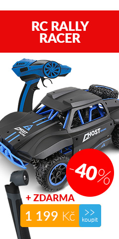 RC Rally Racer BUDDY TOYS BRC 18.521 + LED SVÍTILNA