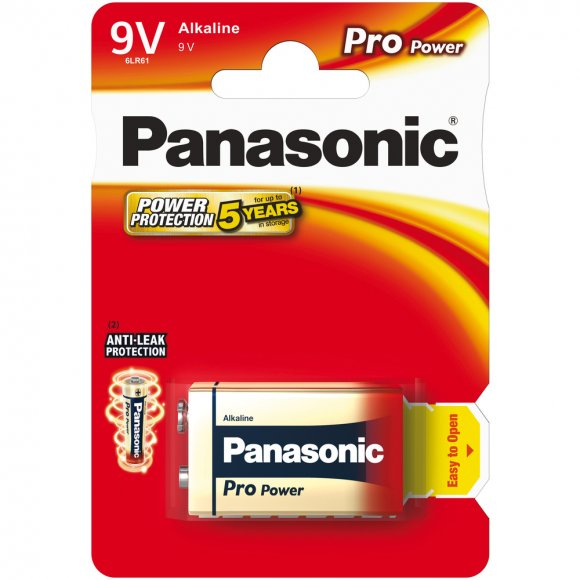 6LR61 1BP 9V Pro Power alk PANASONIC
