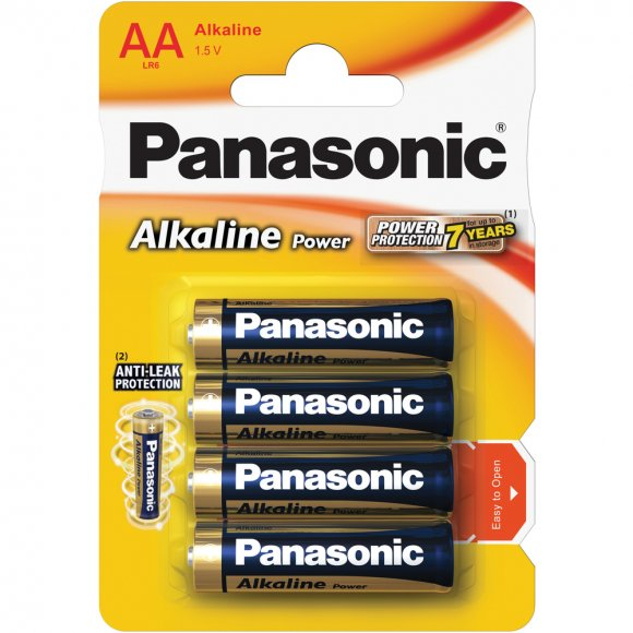 LR6 4BP AA Alk Power alk PANASONIC